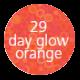 Day glow orange Liquid
